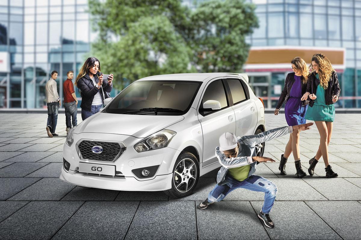 After-Datsun, Photo retouching
