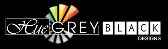Hue Grey Black